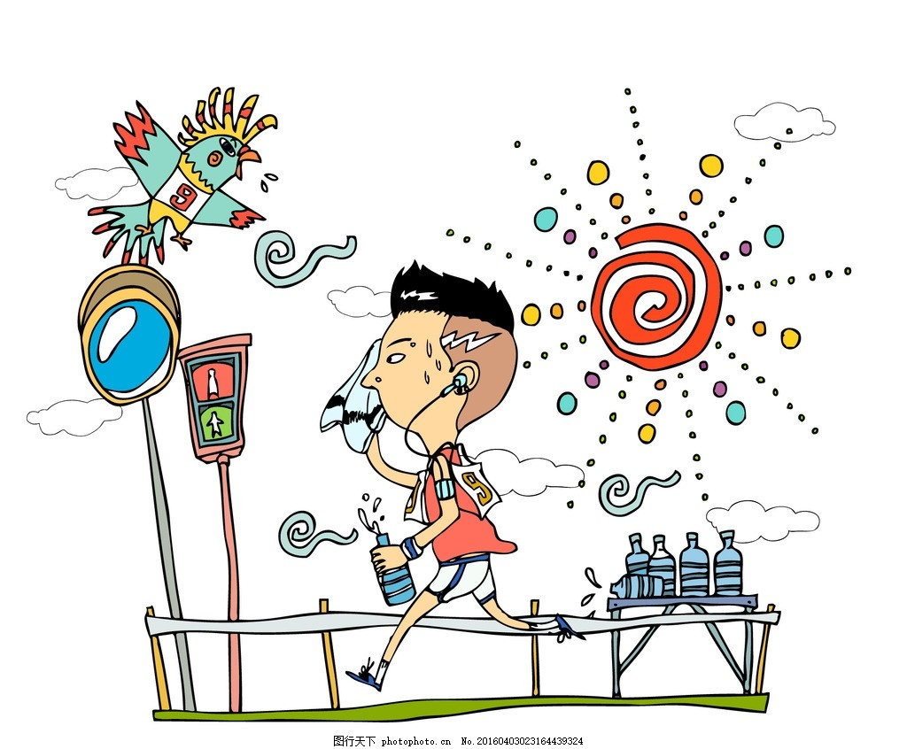 人物卡通 卡通壁纸 韩国矢量人物 日常生活 手绘人物 人物插画 动漫