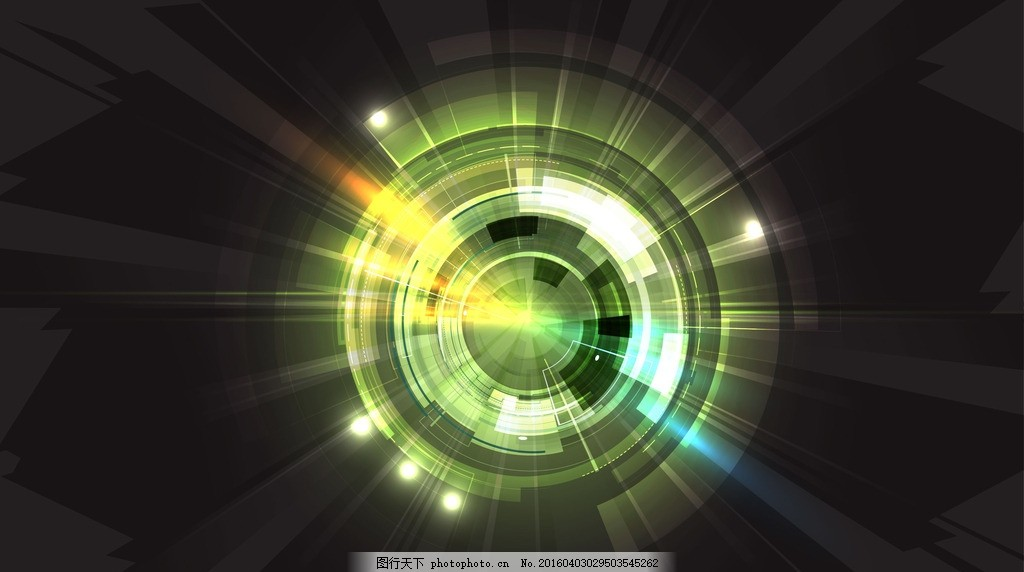 网络科技背景 线条 条纹 卡片 数字 圆圈 圆环 动感 电路 动感线条