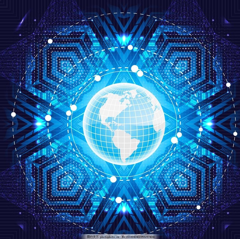 科技圆环背景 科技背景 商务科技背景 科技圆环 科技元素 创意信息