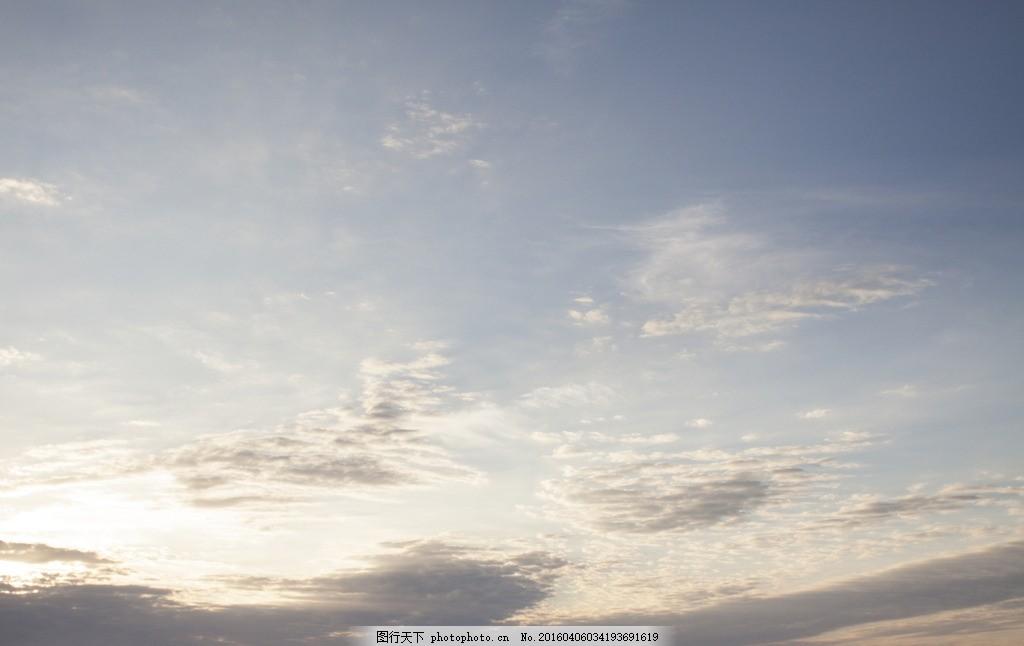 天空 蓝天 云朵 黄昏 天空素材 天空素材 摄影 自然景观 自然风景 240