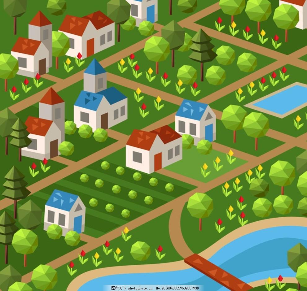 手绘 梦幻 建筑素材 矢量线条 线条建筑 手绘建筑 建筑卡通 卡通建筑