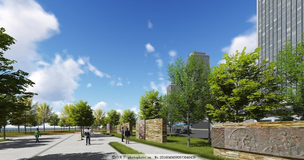 公园文化广场 酒元素文化 公园入口 文化石景 浮雕 铜雕 景墙