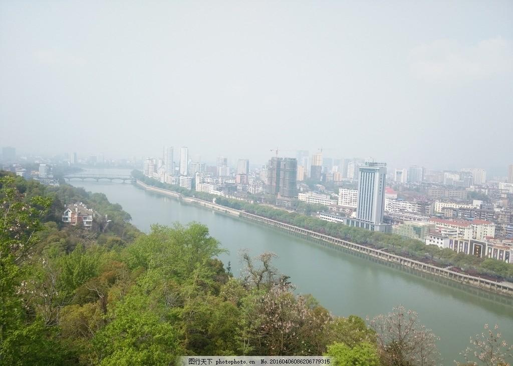 城市风景,信江河 上饶风景 江西上饶风光 自然风光-图