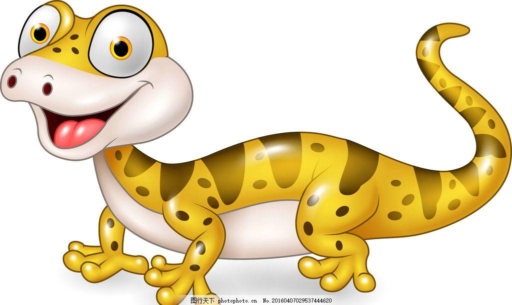 动物,漫画爬行动物四脚蛇普通素材-图行天下虎壁虎妖图片