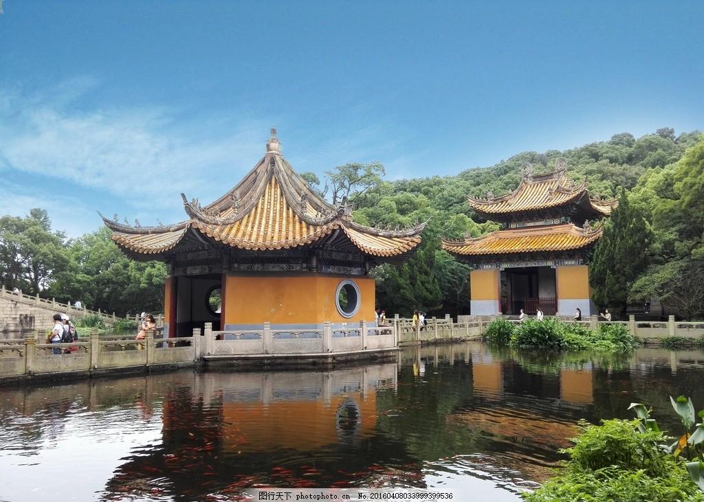 普陀山普济寺 景点 庙宇 香火 摄影 国内旅游
