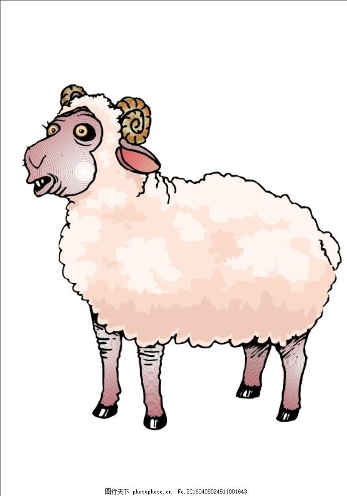 绵羊的捏法步骤图片