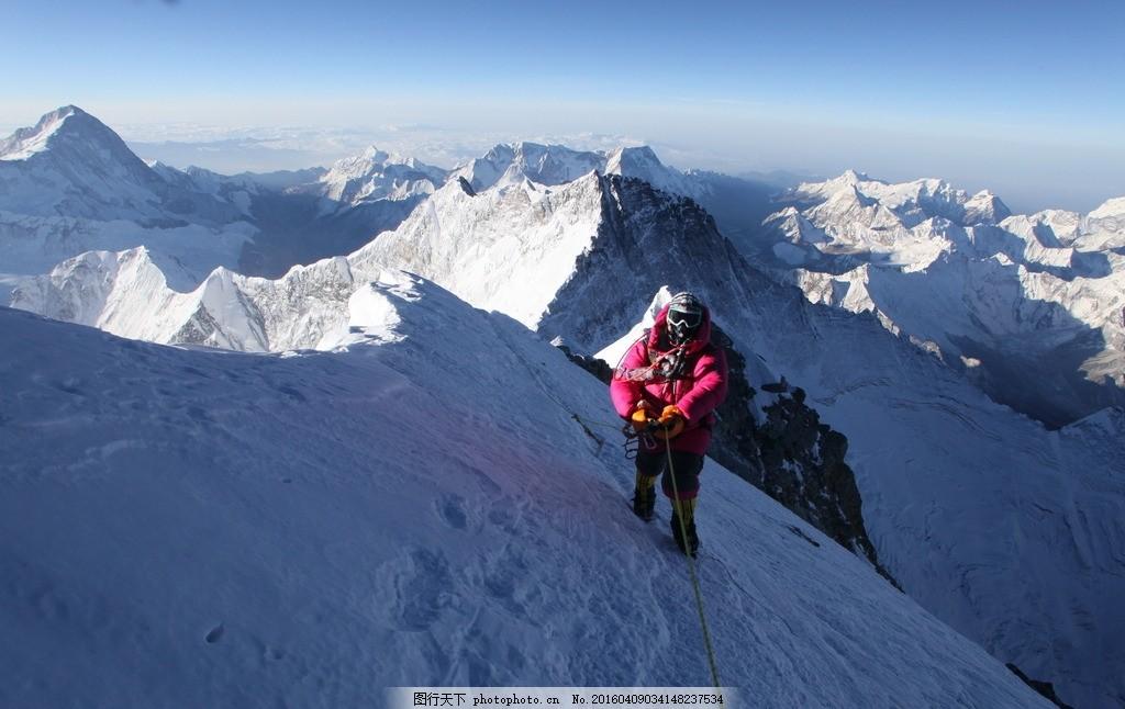 高清 风景 山峰 特写 珠峰 北坡 摄影 自然景观 自然风景 72dpi jpg