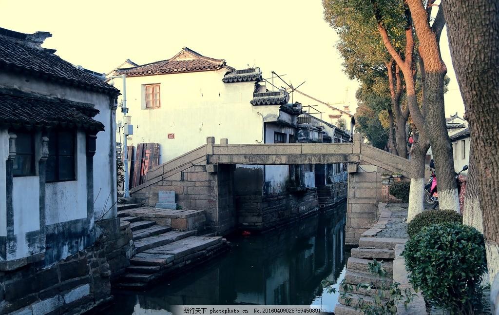 江南风光 古镇 古建筑 白墙黑瓦 古镇建筑 古老建筑 老宅 风景摄影