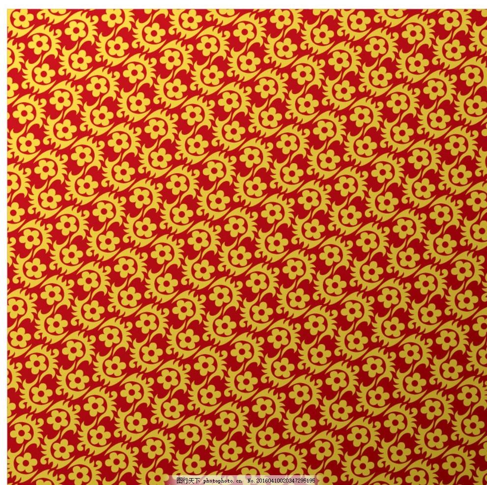 布纹 日式 欧式 花纹花边 平铺 日式花纹 日本传统花纹 花纹背景 金色