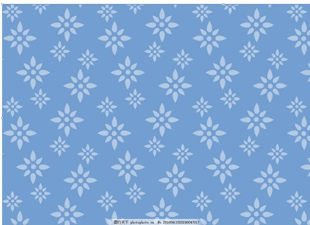 蓝色欧式竖纹墙纸