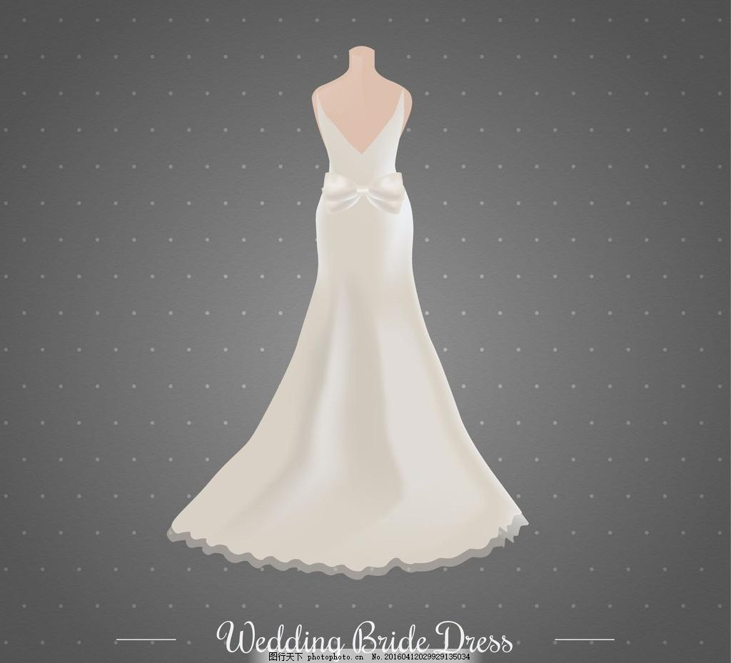 婚礼礼服设计 婚礼礼服 女士婚纱 白色婚纱 婚礼花框 婚礼边框 欧式