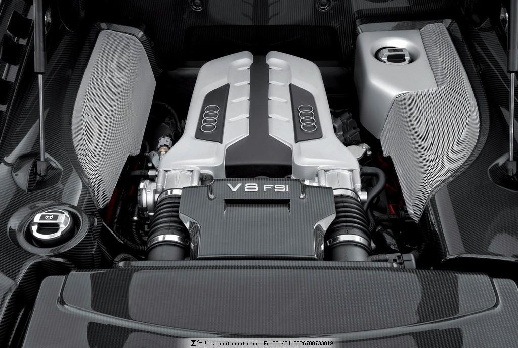奥迪r8发动机
