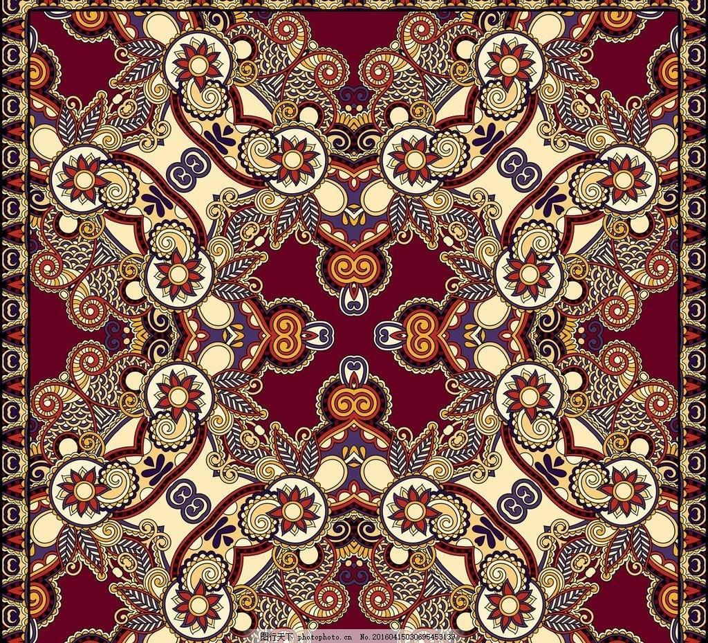 欧式花纹传统花纹古典宫廷花纹