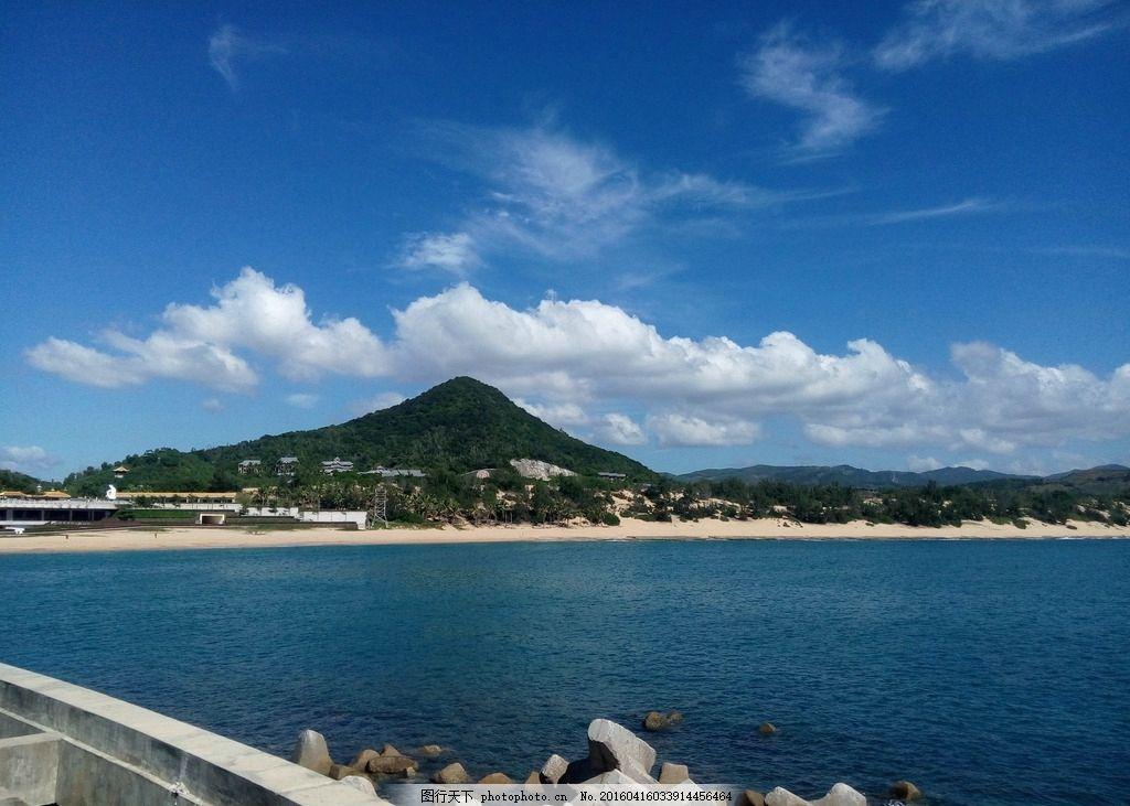 三亚风景 山海 大海 宽阔 天空 风光 旅游 摄影 国内旅游