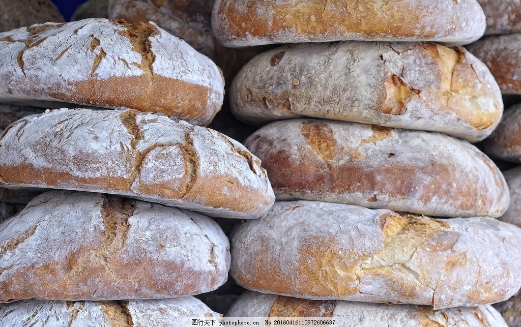 欧式面包 面包摄影 面包素材 小麦面包 西式面包 食物背景图 摄影