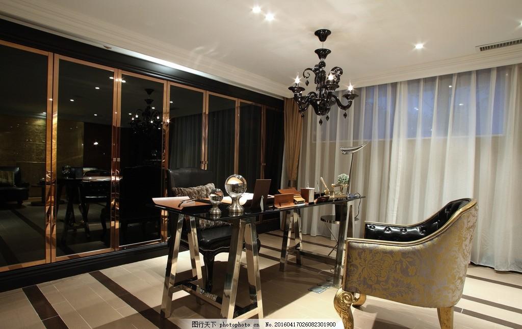 办公室 皇室客厅 公司 书房 沙发背景 红木 欧式 欧式风格 欧式沙发