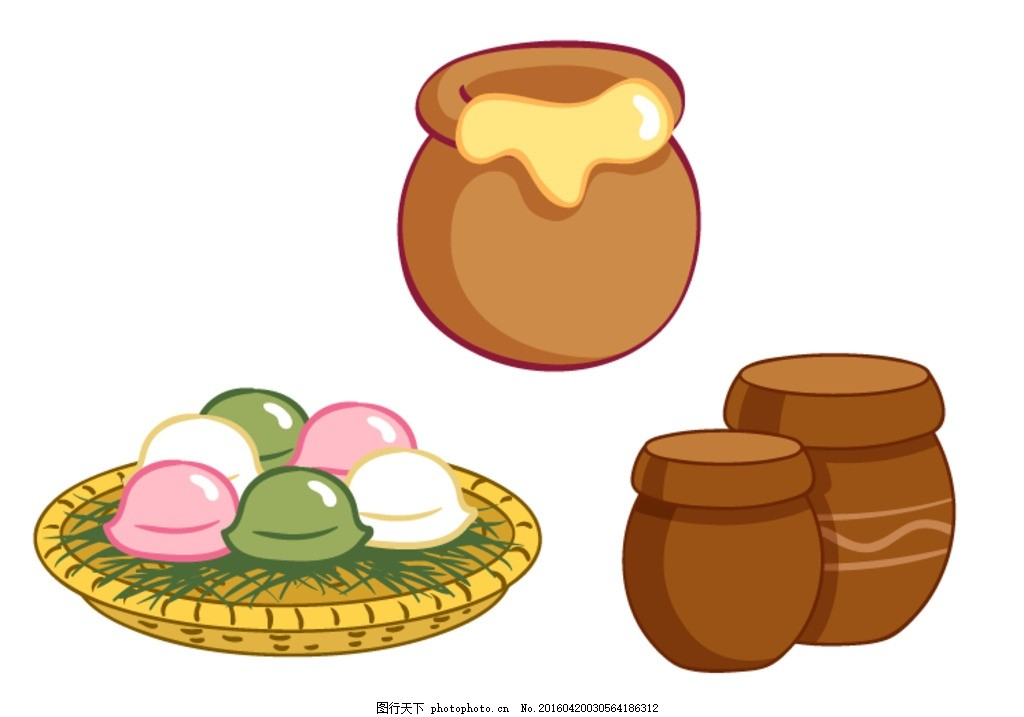 蜜罐 卡通蜜罐 矢量蜂蜜罐 蜂蜜罐 坛子 矢量坛子 卡通坛子 蜂蜜罐子