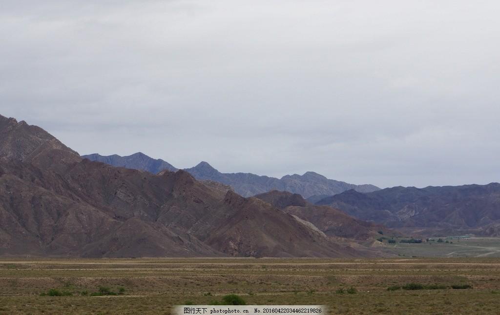 贺兰山 名山 高山 大山 戈壁 荒凉 宁夏风光 摄影 自然景观 山水风景