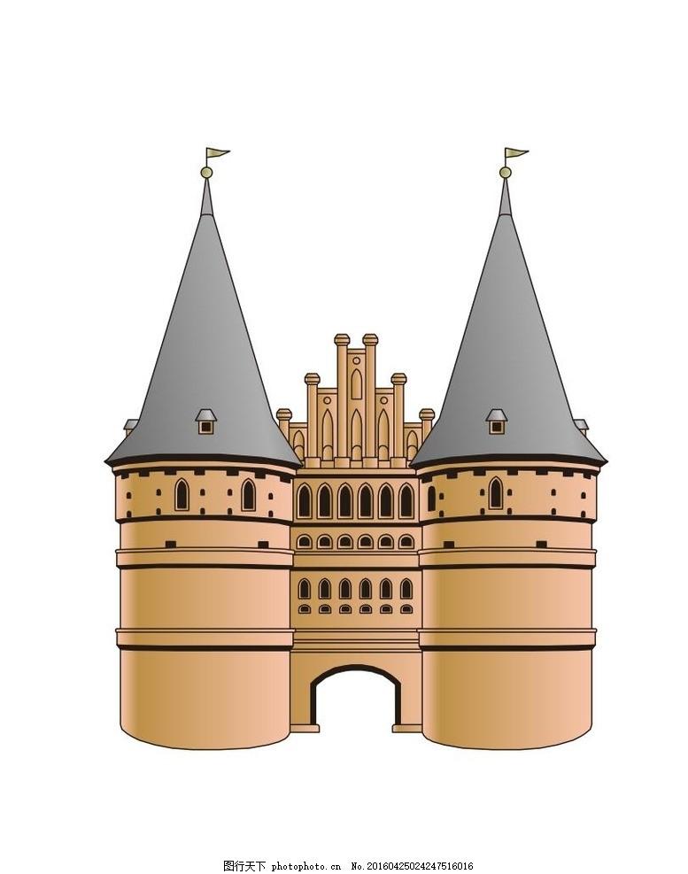 沙特阿拉伯建筑 伊斯兰 穆斯林 城堡 矢量图 欧式 古建筑 外国古建筑图片