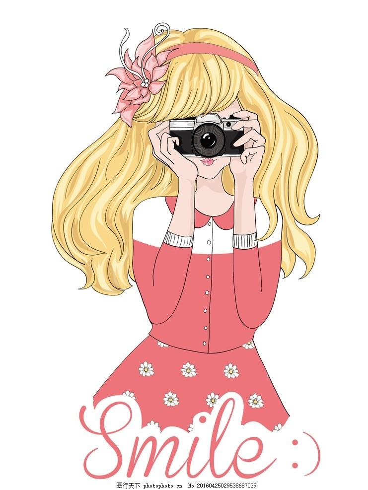 卡通女孩 可爱女孩 可爱女孩插画 插画 人物 美女 女孩 女生 设计