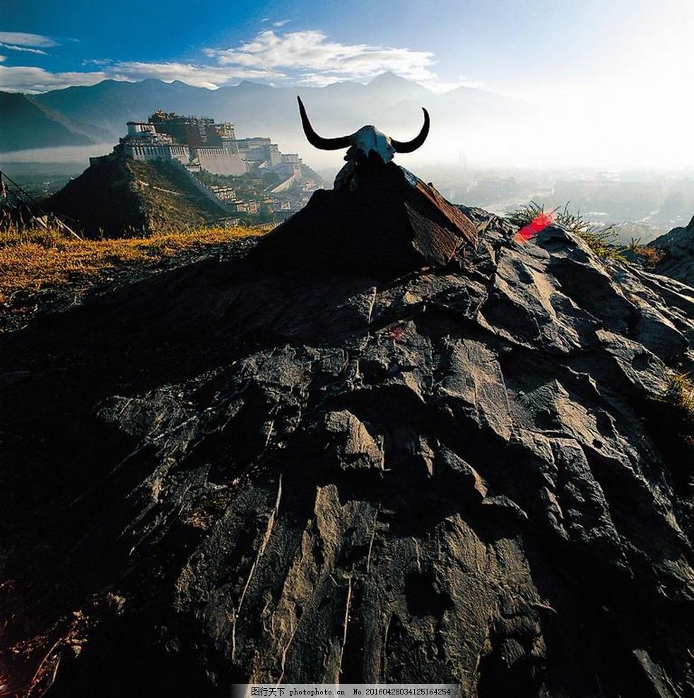 雪峰 蓝天白云 青藏高原风景 青藏高原风光 青藏高原 摄影 自然景观
