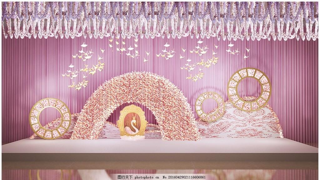 婚礼场景布置 迎宾区 迎宾区效果图 照片墙 婚纱 婚庆道具 欧式婚礼
