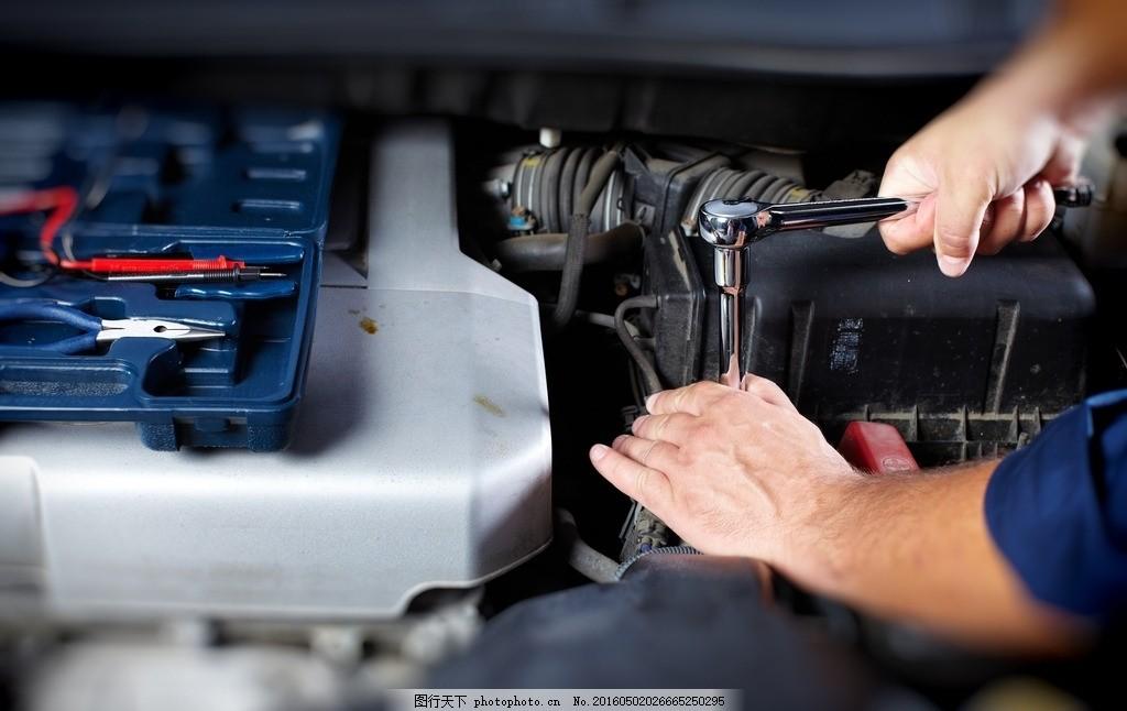 汽车维修 唯美 炫酷 汽车 维修 汽车修理 工业 零件 机械 汽车工业