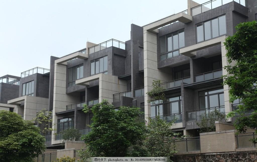 建筑 房地产 楼宇 楼房 商品房 户外 结构图 商品房楼房外墙结构