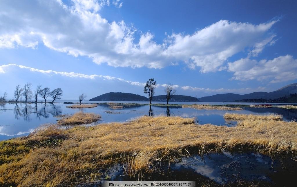 大理洱海 唯美 风景 风光 旅行 自然 云南 蓝天 白云 摄影