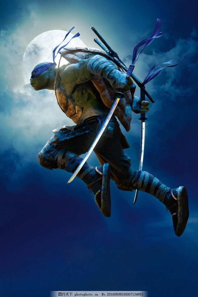 忍者神龟2 忍者神龟 忍者 忍者龟 破影而出 游戏 游戏电影 电影海报