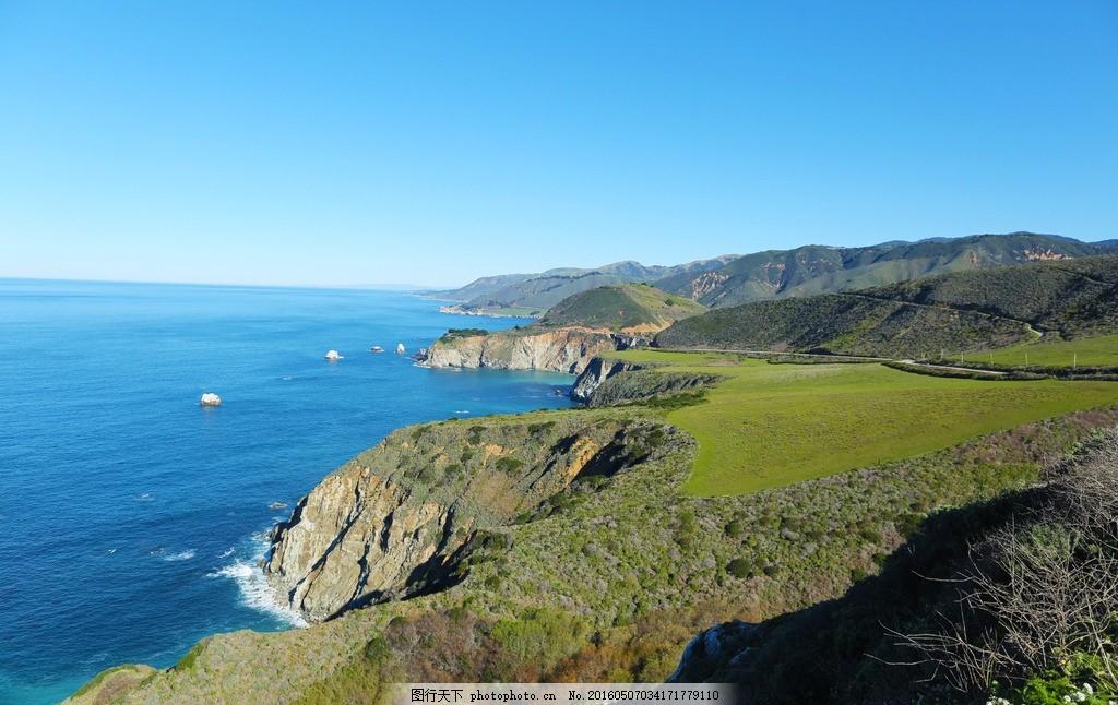 设计图库 自然景观 自然风景  比克斯比 河 大桥 美国西海岸 加利福