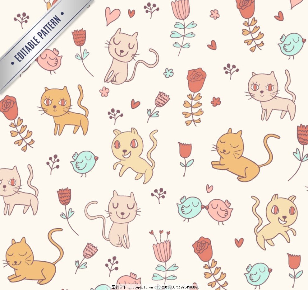 卡通漫画 卡通猫咪 卡通招财猫 招财猫 矢量猫咪 卡通动物 可爱动物