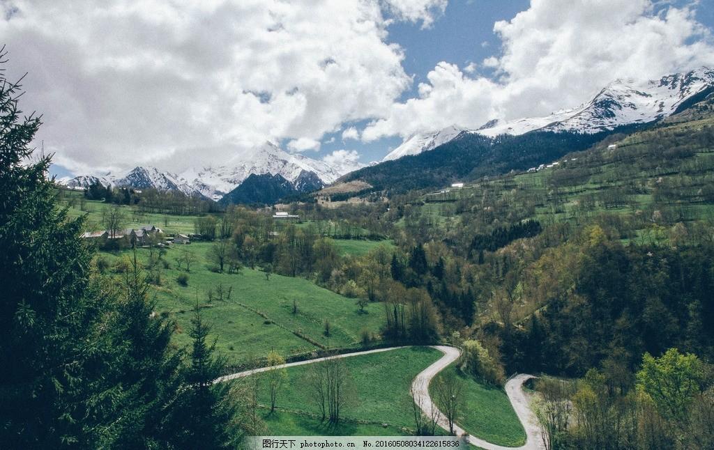 蓝天白云森林 唯美 风景 风光 旅行 公园 绿地 摄影 旅游 摄影 自然