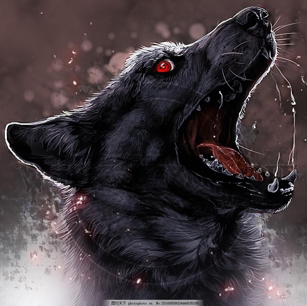 梦幻的狼族 摄影 狼头 动物世界