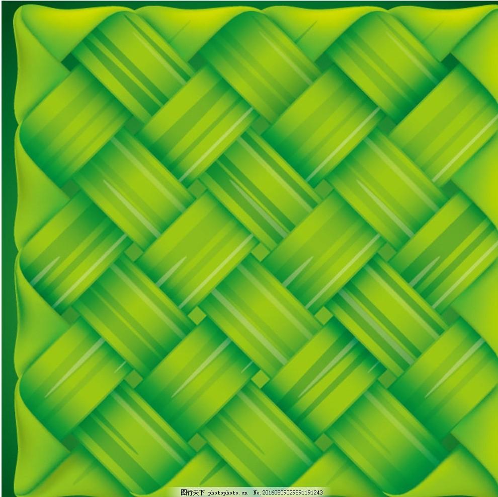 草革带 编织带 编织背景 绿色 背景矢量素材 eps素材下载 底纹边框