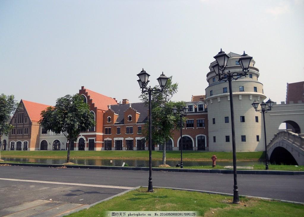 欧洲风情小镇图片