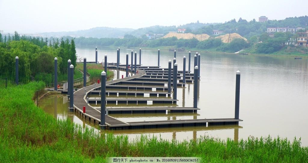 游艇码头 长沙 坪塘 巴溪洲 水上乐园 风景 风光 摄影 建筑园林 园林