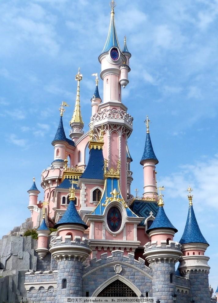 迪士尼乐园 迪士尼 迪士尼城堡 乐园 儿童乐园 游乐园 游乐场 建筑