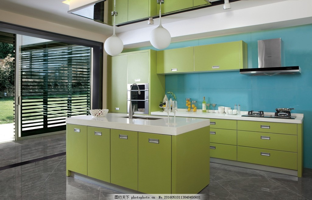 一字型厨房 u型厨房 定制家具 装修 装饰 家庭装修 板材 实木橱柜图片