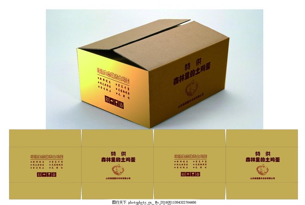 鸡蛋包装箱平面图 鸡蛋包装箱 鸡蛋 包装箱 纸箱 包装设计 广元 设计