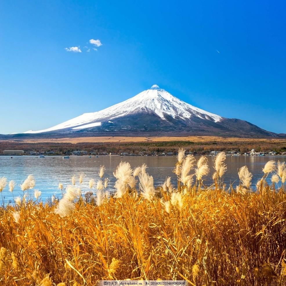 富士山 大场景 唯美 风景 美丽景色 奇观 宏伟 日本 摄影