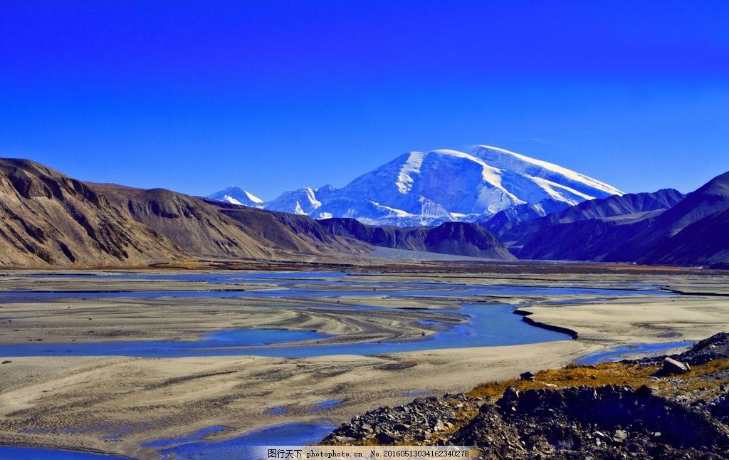 雪山 西藏 纯净 寒冷 唯美 大场景 摄影 自然景观 自然风景 300dpi jp