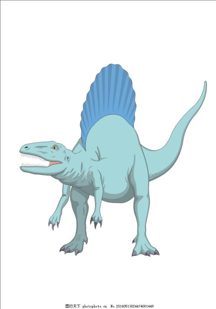 恐龙 翼龙 霸王龙 恐龙家族 卡通恐龙 矢量恐龙 恐龙素材 各种恐龙