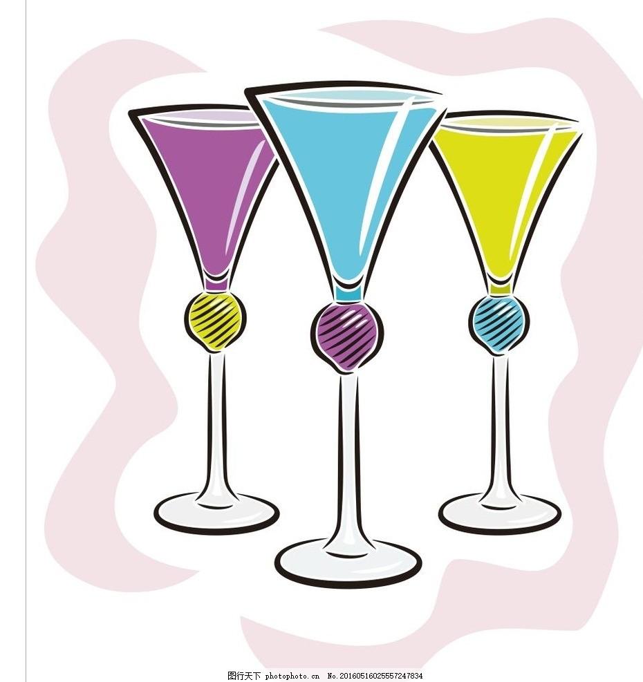 果汁杯 杯子 冰淇淋 简笔画 线条 线描 简画 黑白画 卡通 手绘 标志