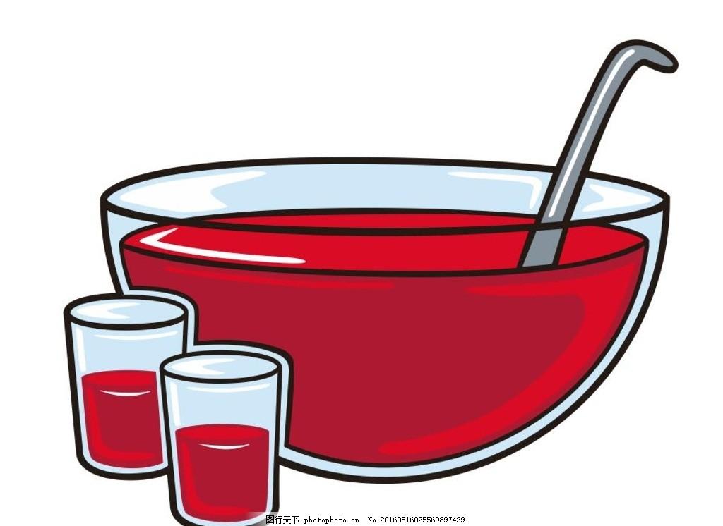 玻璃容器 碗 简笔画 线条 线描 简画 黑白画 卡通 手绘 标志图标