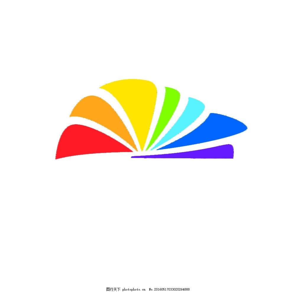七彩动物logo