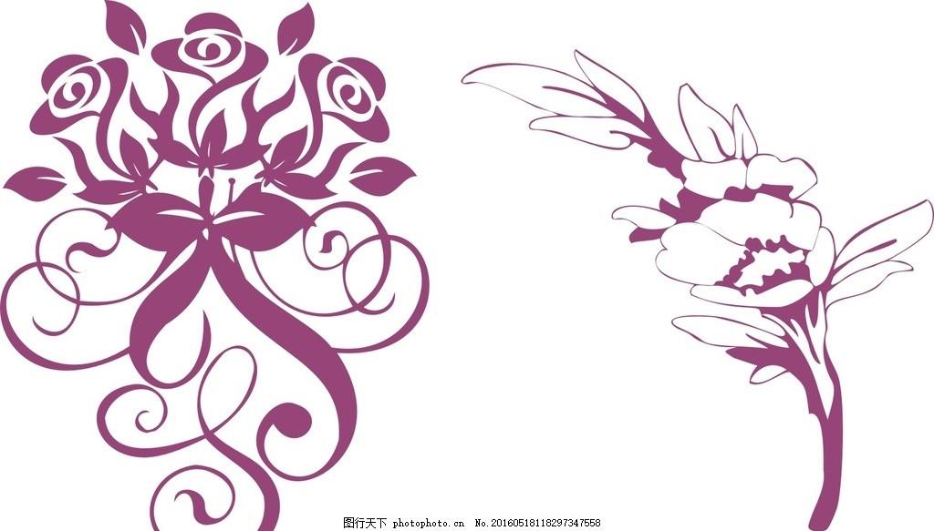 花朵标志 山茶花图片