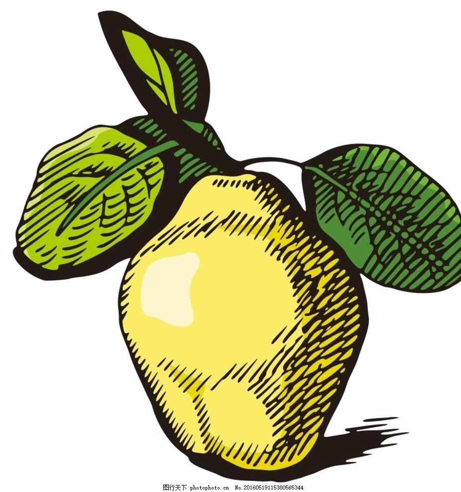 素描梨子步骤视频图