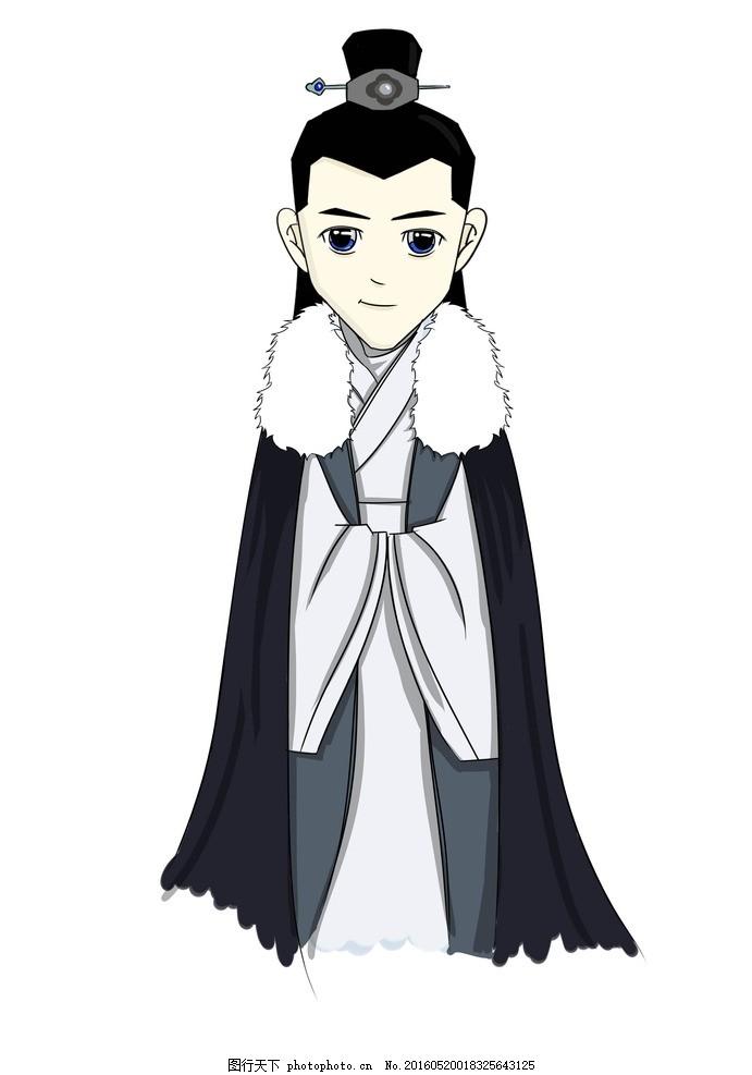 琅琊榜人物漫画梅长苏