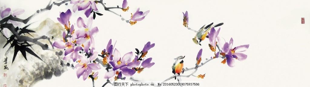国画技法 笔法 大写意 韵味 价值 颜料 五颜六色 花朵 花瓣 水墨画